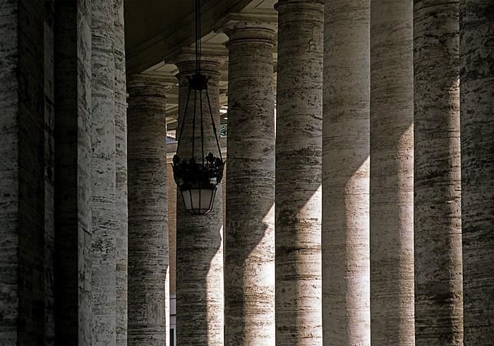 Vatikan Petersplatz: Kolonnaden
