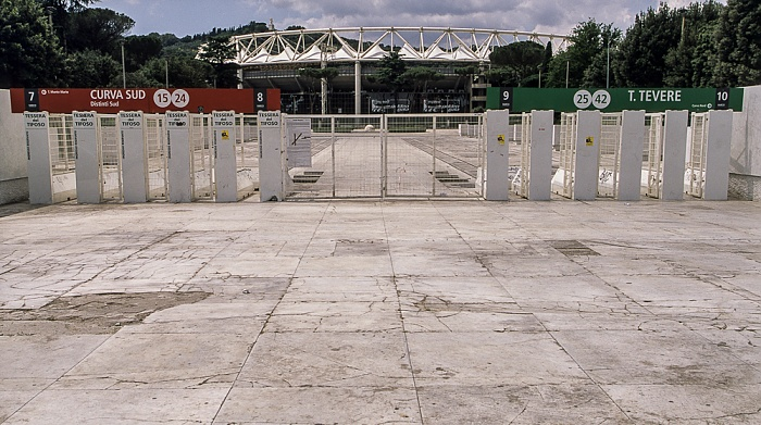 Rom Foro Italico: Stadio Olimpico (Olympiastadion)