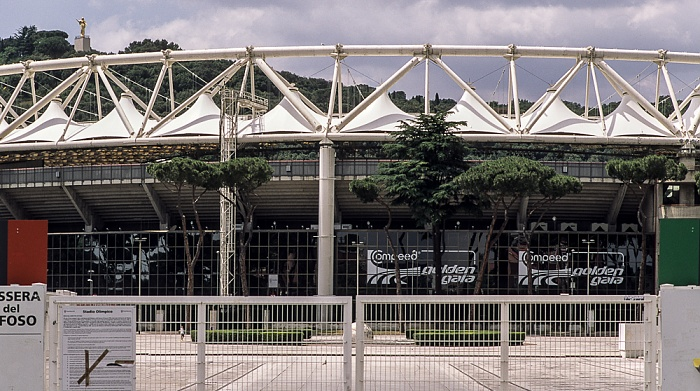Foro Italico: Stadio Olimpico (Olympiastadion) Rom