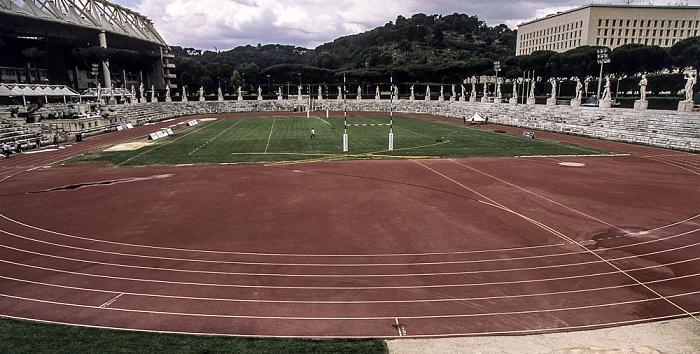 Rom Foro Italico: Stadio dei Marmi Olympiastadion Palazzo della Farnesina