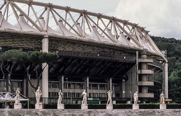 Rom Foro Italico: Stadio Olimpico (Olympiastadion) Stadio dei Marmi