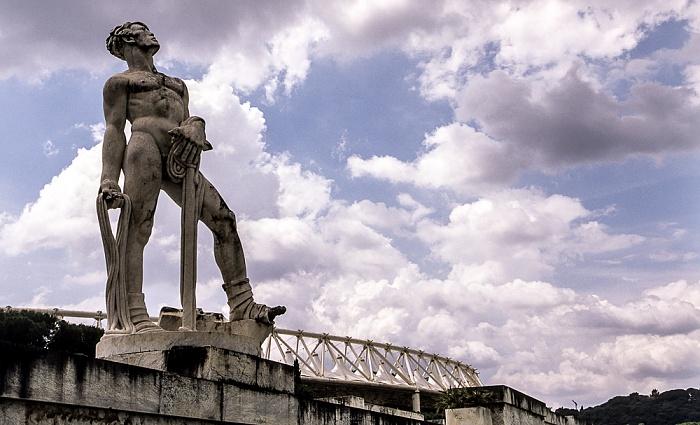 Rom Foro Italico: Stadio dei Marmi Olympiastadion