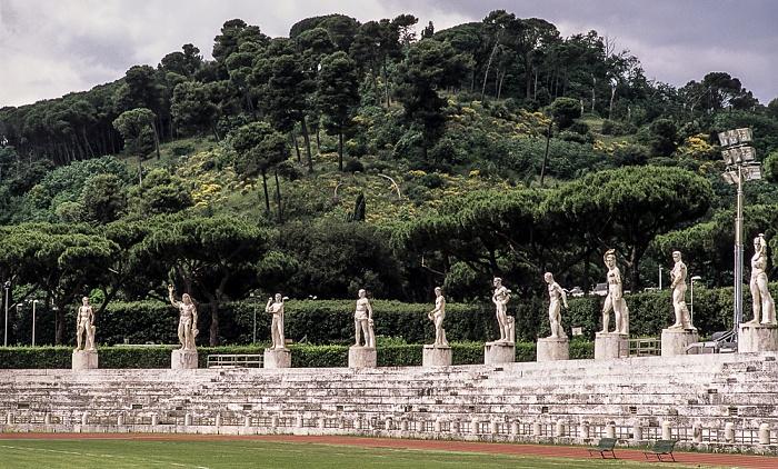 Rom Foro Italico: Stadio dei Marmi Monte Mario
