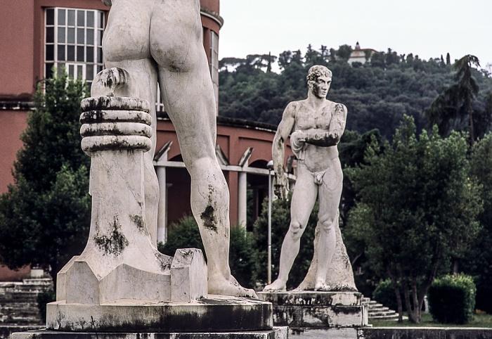 Foro Italico: Stadio dei Marmi Rom