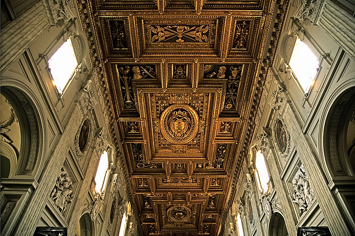 Rom Lateranbasilika (San Giovanni in Laterano): Mittelschiff