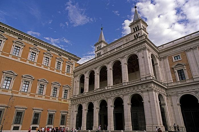 Rom Lateranbasilika (San Giovanni in Laterano) Lateranpalast