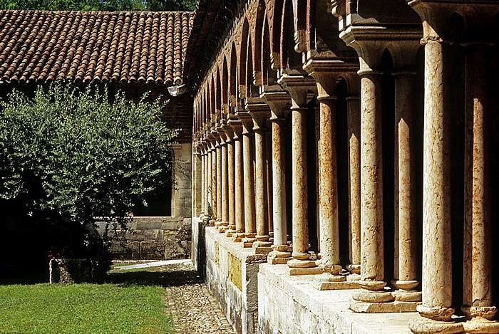 Basilica di San Zeno: Kreuzgang Verona 2011