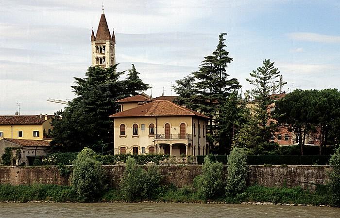 Glockenturm (Campanile) der Basilica di San Zeno Verona