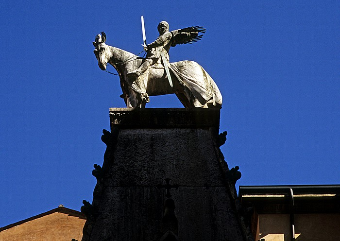 Centro Storico (Altstadt): Skaligergräber (Arche scaligere) Verona