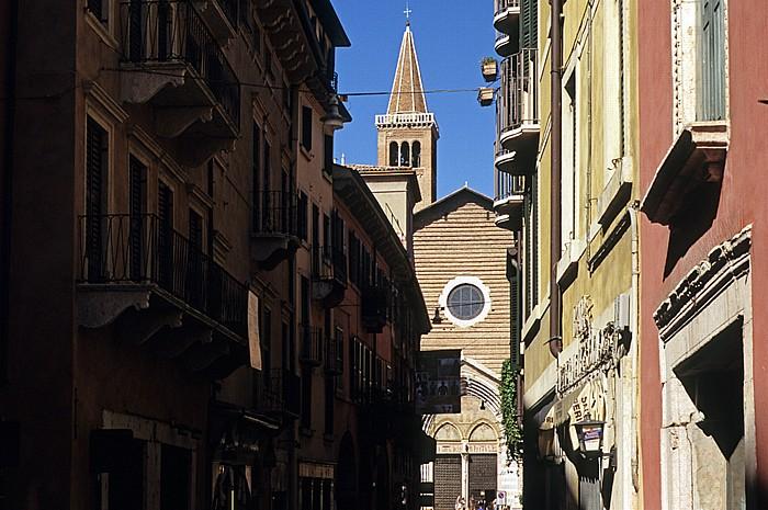 Centro Storico (Altstadt): Corso Sant' Anastasia, Basilica di Sant' Anastasia Verona