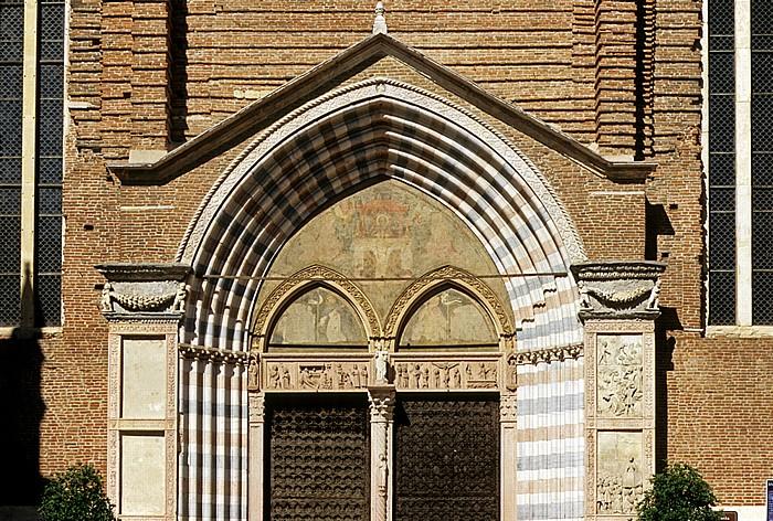 Centro Storico (Altstadt): Basilica di Sant' Anastasia Verona