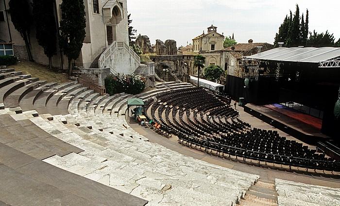 Centro Storico (Altstadt): Römisches Theater (Teatro Romano di Verona) Verona