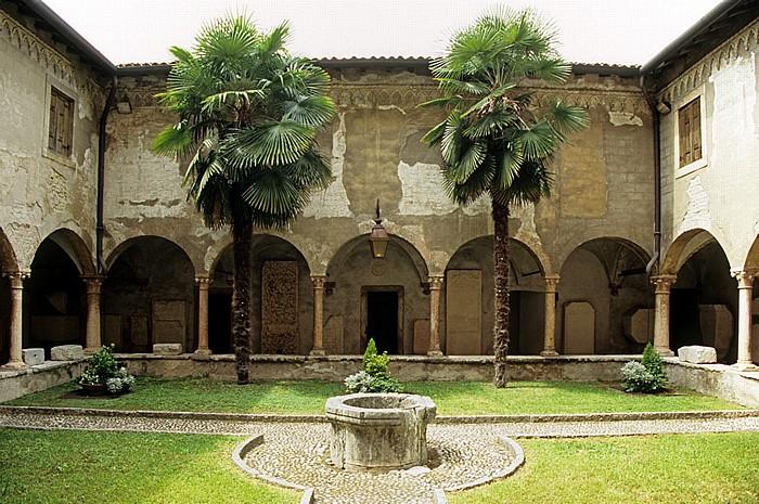 Centro Storico (Altstadt): Archäologisches Museum im Römischen Theater (Museo archeologico al teatro romano). Verona