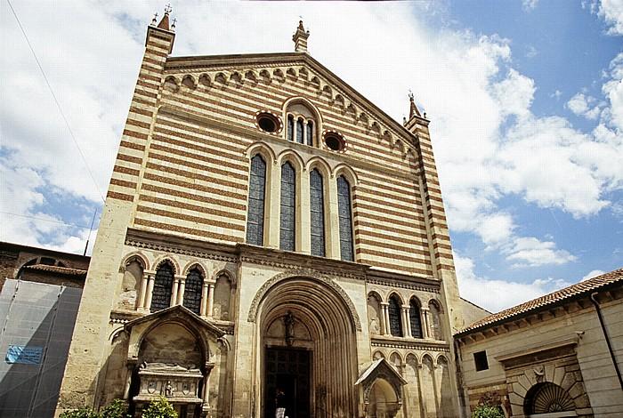 Centro Storico (Altstadt): Chiesa di San Fermo Maggiore Verona