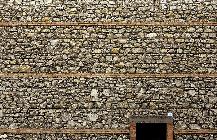 Centro Storico (Altstadt): Mura comunali di Verona (Stadtmauer) Verona