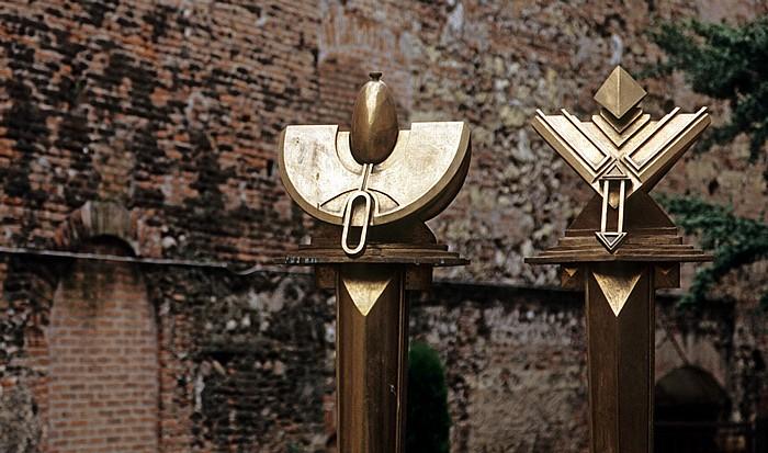 Verona Centro Storico (Altstadt) Mura comunali di Verona