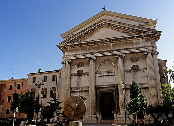 Verona Centro Storico (Altstadt): Piazza San Nicolo, Chiesa di San Nicolo