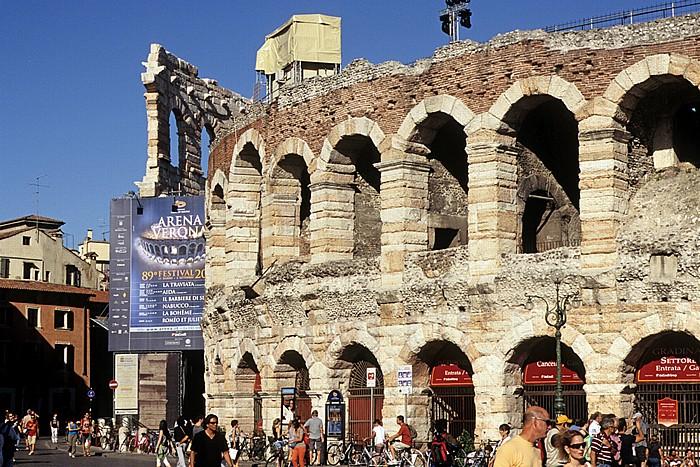 Centro Storico (Altstadt): Arena di Verona, Piazza Bra Verona
