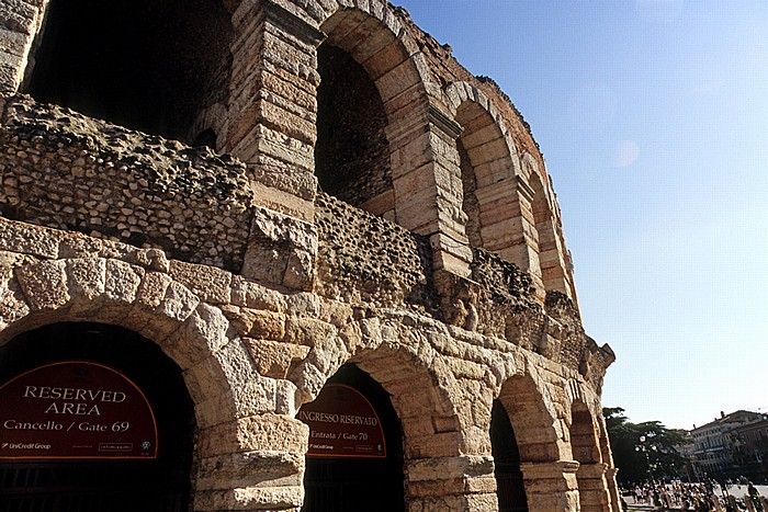 Centro Storico (Altstadt): Arena di Verona, Piazza Brà