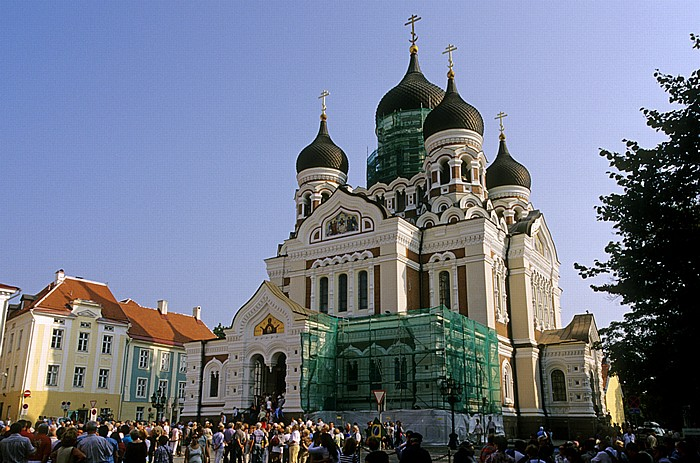 Altstadt: Domberg - Alexander-Newski-Kathedrale Tallinn 2011
