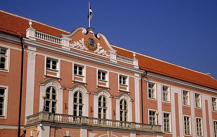 Altstadt: Domberg - Castrum Danorum, Sitz des Riigikogu (estnisches Parlament) Tallinn 2011
