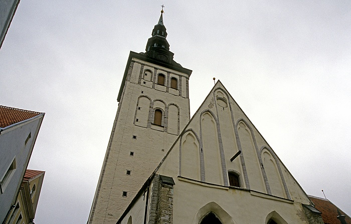 Altstadt: Unterstadt - Nikolaikirche (Niguliste kirik) Tallinn 2011