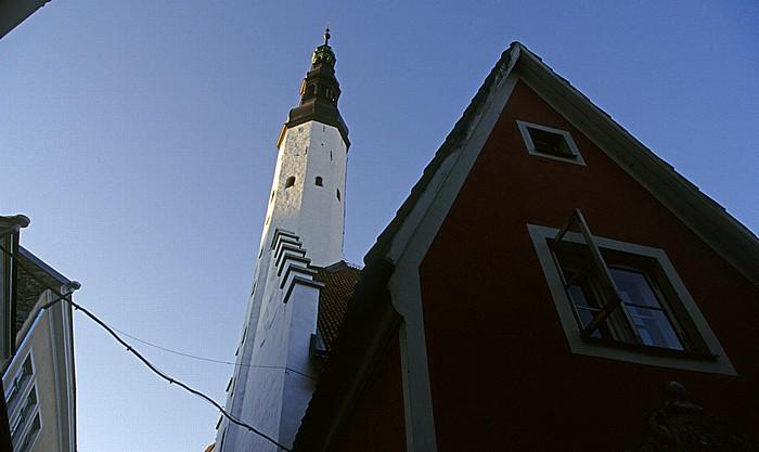 Altstadt: Unterstadt - Heiliggeistkirche (Püha Vaimu kirik) Tallinn 2011