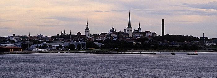 Fähre M/S Superstar Helsinki - Tallinn: Blick auf die Altstadt von Tallinn Tallinn 2011