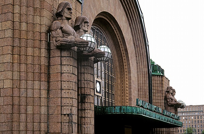 Kluuvi: Hauptbahnhof Helsinki (Helsingin päärautatieasema)
