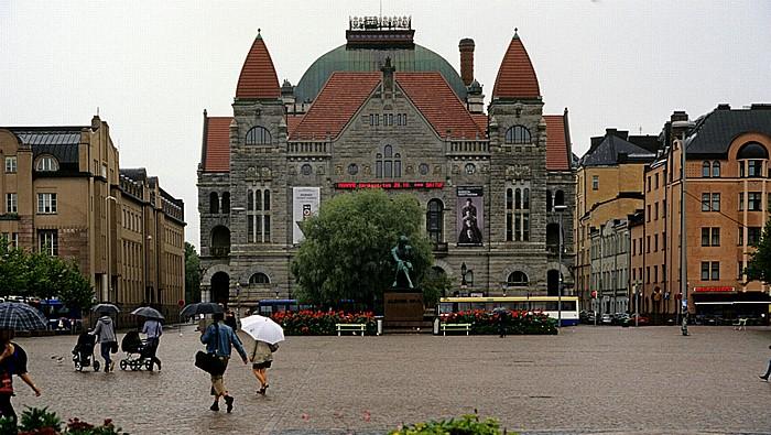 Kluuvi: Finnisches Nationaltheater (Suomen Kansallisteatteri) Helsinki 2011