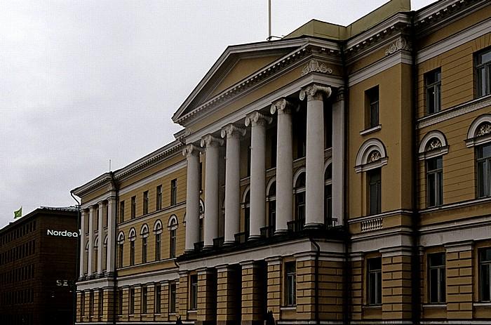 Kruununhaka: Senatsplatz (Senaatintori) - Hauptgebäude der Universität Helsinki (Helsingin yliopisto)