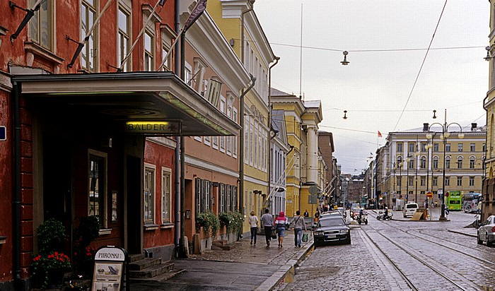 Helsinki Kruununhaka: Aleksanterinkatu (Aleksi) Senatsplatz