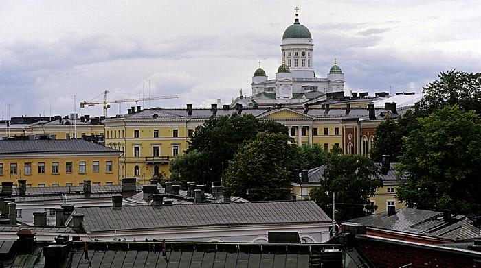 Blick auf Kruununhaka mit dem Dom von Helsinki (Helsingin tuomiokirkko) Helsinki 2011