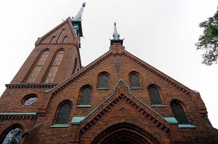 Kaartinkaupunki: Deutsche Kirche (Saksalainen kirkko) Helsinki 2011