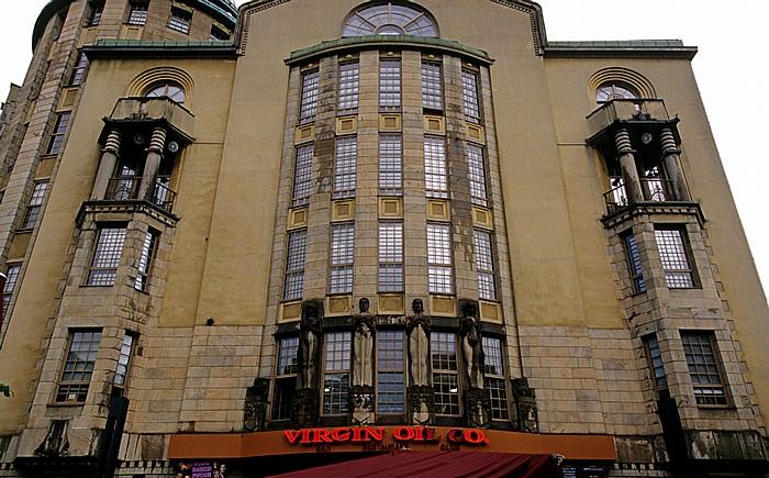 Helsinki Kluuvi: Mannerheimintie -  Uusi Ylioppilastalo (Neues Studentenhaus)