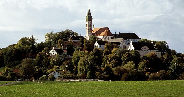 Andechs Heiliger Berg mit Klosterkirche