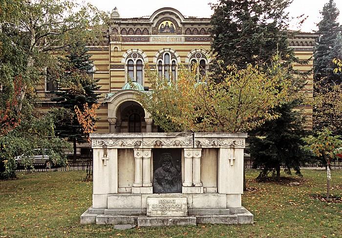 Sofia Gebäude des Patriarchats der Bulgarisch-Orthodoxen Kirche Patriarchat der Bulgarisch-Orthodoxen Kirche
