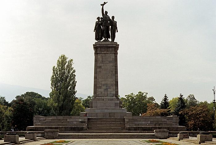 Sofia Knyazheska gradina: Denkmal für die Sowjetische Armee