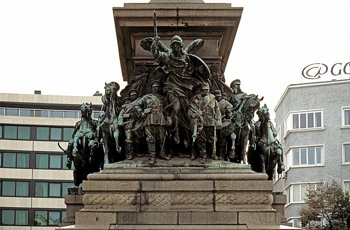 Sofia Parlamentsplatz (Narodno-Sabranie-Platz): Reiterdenkmal Zar Alexanders
