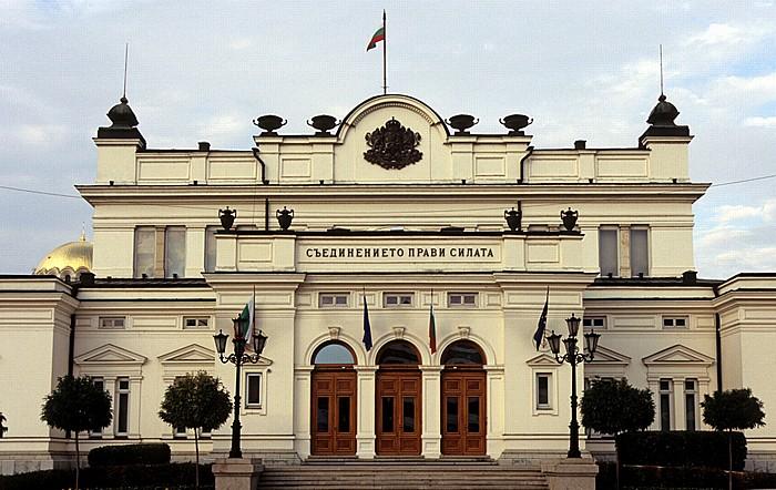 Sofia Parlamentsplatz (Narodno-Sabranie-Platz): Parlamentsgebäude (Narodno Sabranie)