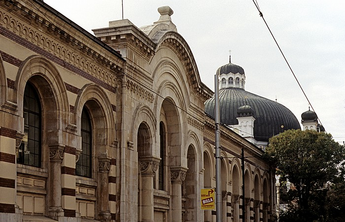Sofia Zentralmarkthalle, Sofioter Synagoge (Sofijska Sinagoga)