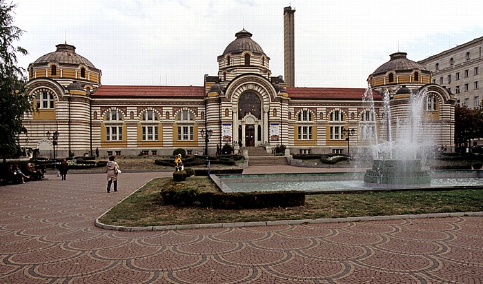 Bad-Platz (Banski-Platz): Zentrales Mineralbad Sofia