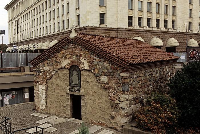 Sofia Bulgarisch-orthodoxe Kirche Sweta Petka Samardschijska Zentralkaufhaus Sofia