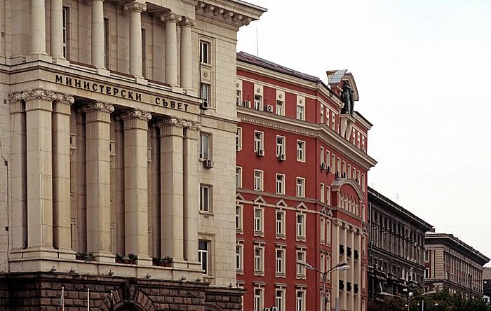 Sofia Knyaz Aleksandar Dondukov Boulevard Ministerratsgebäude
