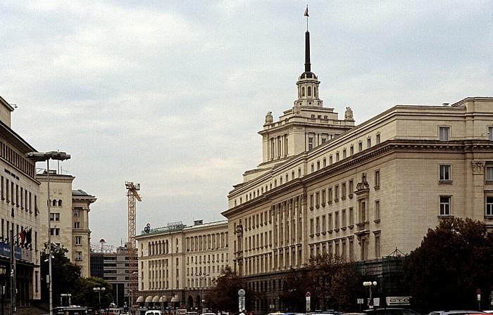 Sofia Battenbergplatz, ehem. Hauptsitz der Bulgarischen Kommunistischen Partei Ehem. Hauptsitz der Bulg. Kommunistischen Partei