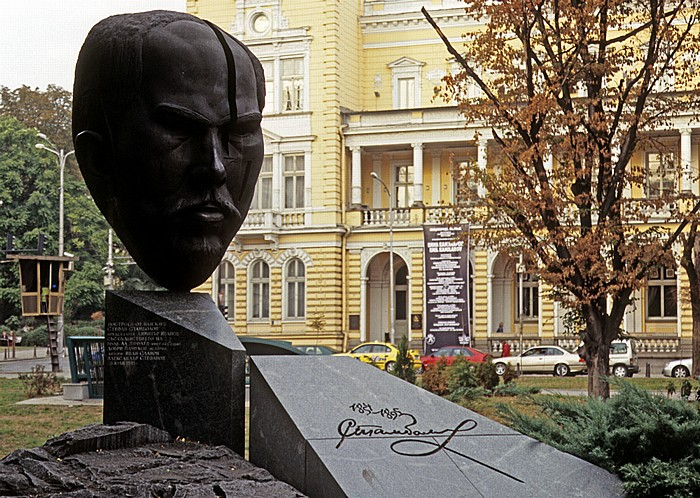 Sofia Crystal Park: Stefan-Stambolow-Denkmal Zentraler Militärklub