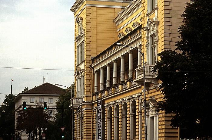 Sofia Tsar Osvoboditel Boulevard: Zentraler Militärklub (Zentralen woenen klub)