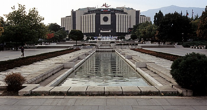 Sofia Bulgarienplatz, Nationaler Kulturpalast (NDK)