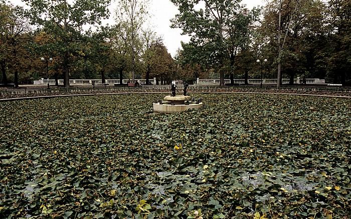 Sofia Borissowa gradina (Borisgarten): Lilienteich