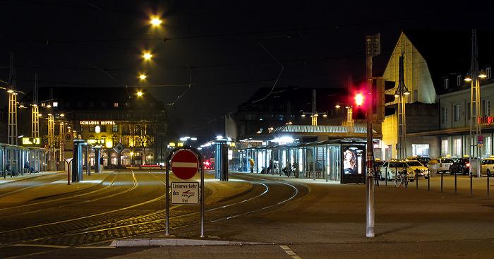 Karlsruhe Bahnhofplatz Hauptbahnhof